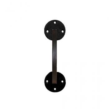 Ручка дверна з квадрата на круглій основі