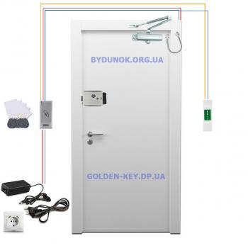 Комплект электромеханический замок ATIS + контроллер SEVEN и доводчиком FRD
