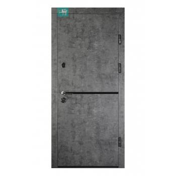 Двери металлические ПК-209 ЕЛИТ Мрамор темный