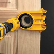 Установить накладной замок на деревянные двери