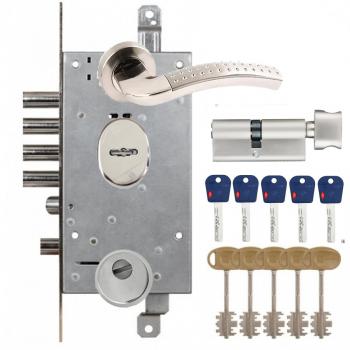 Mottura 54.797 + Mul-T-Lock Integrator + ручки Apecs