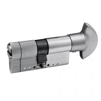 Цилиндр замка SECUREMME K75 ключ-тумблер (мат хром)