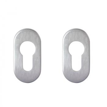 Накладка на цилиндр Condi Collection PZ овал (нержавеющая сталь)