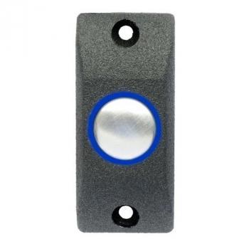 Кнопка выхода антивандальная накладная с подсветкой SEVEN K-787