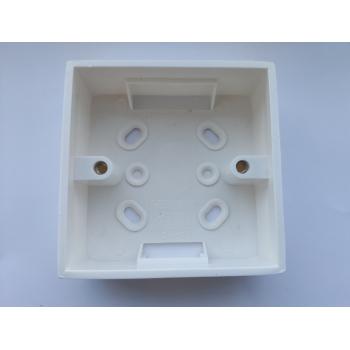 Подрозетник для энергосберегающего кармана (накладной) SEVEN LOCK P-7754e