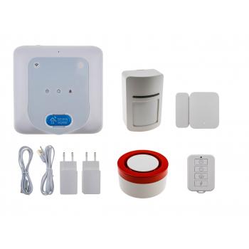Розумна Wi-Fi GSM сигналізація SEVEN HOME A-7017