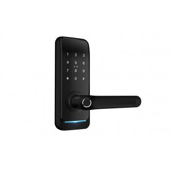 Умный биометрический замок SEVEN LOCK SL-7738SH black