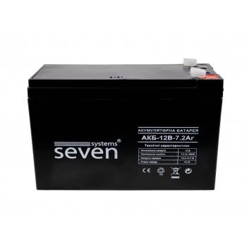 Аккумуляторная батарея SEVEN 12В/7Ач