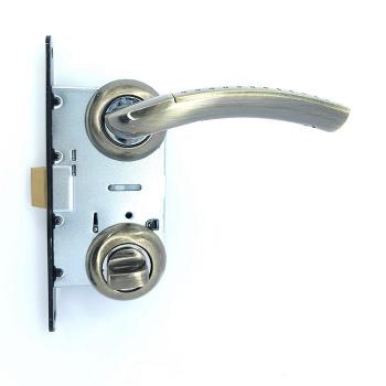 Дверные ручки под фиксацию TRION ZEUS 17 AB/CP ЦАМ