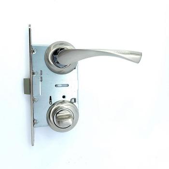 Дверные ручки под фиксацию TRION POLIS 17 Алюминий SN/CP