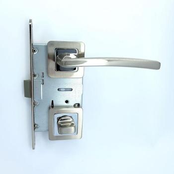 Дверные ручки под фиксацию TRION VIGI 74 SN/CP ЦАМ