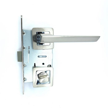 Дверные ручки под фиксацию TRION DECCO 74 SN/CP ЦАМ