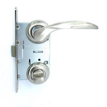 Дверные ручки под фиксацию TRION PIETRA 17 SN/CP ЦАМ