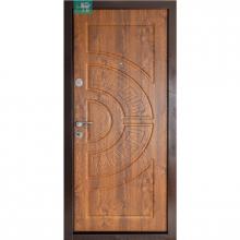 Входная дверь ПУ-08 (золотой дуб)  Министерство Дверей