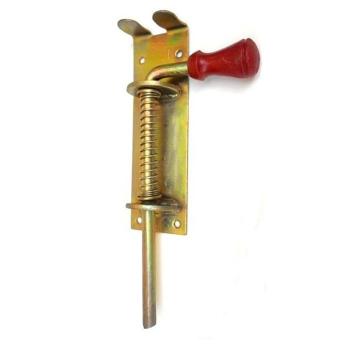 Засов-пружина №370 (красная ручка)